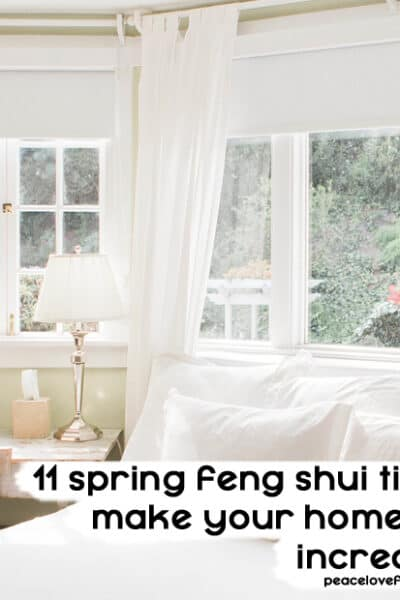 spring feng shui tips