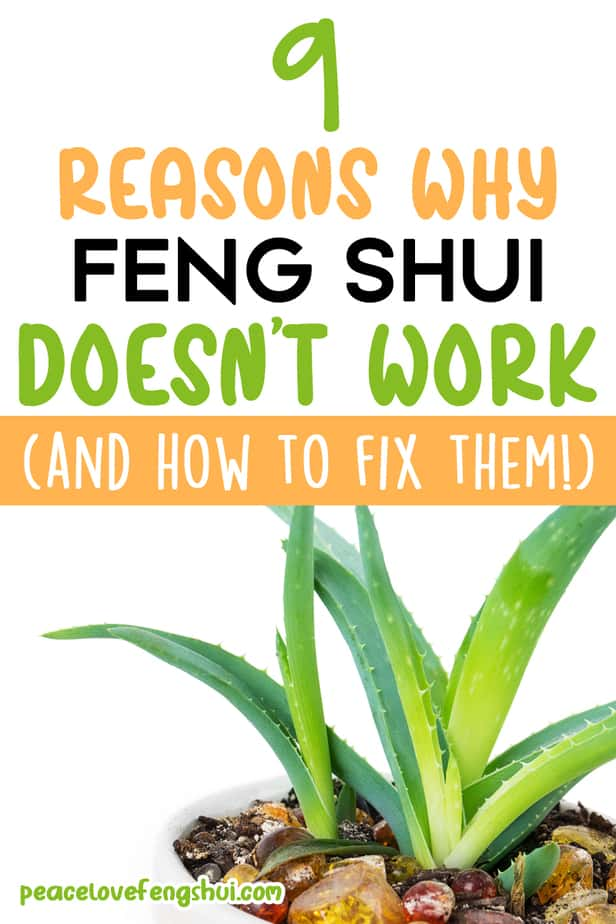 9 reasons why feng shui doesn't work