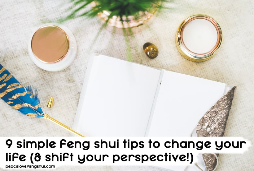 feng shui tips to change your life