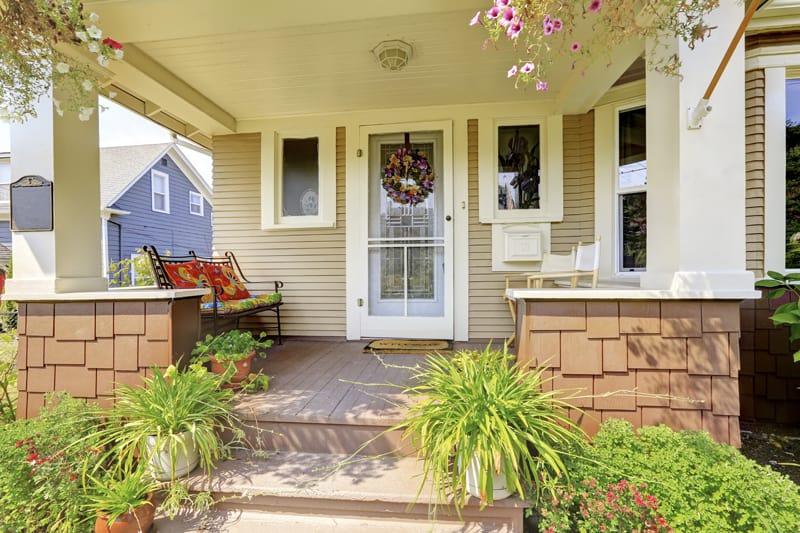 front porch decor feng shui