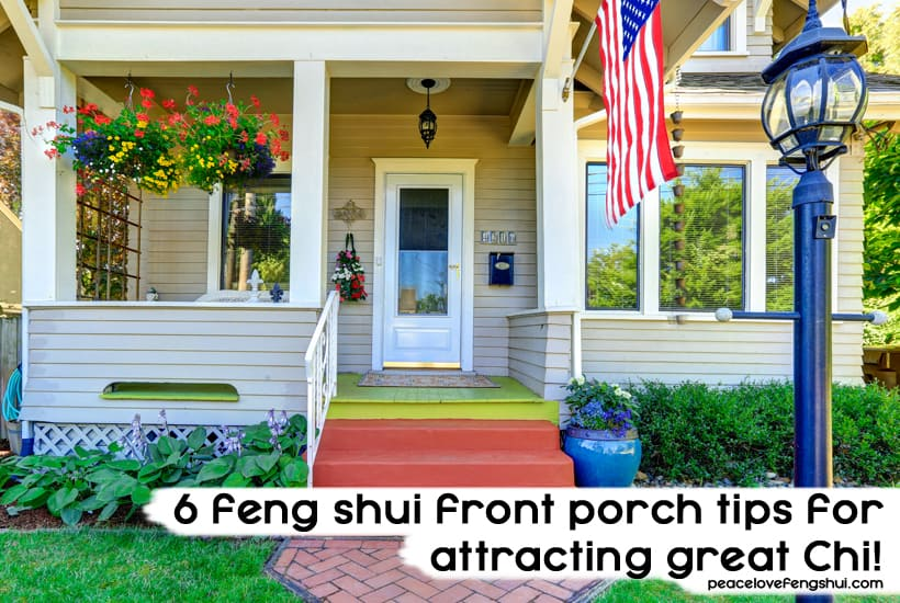 feng shui front porch tips