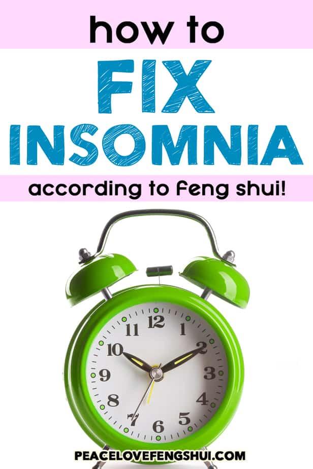 feng shui fixing insomnia