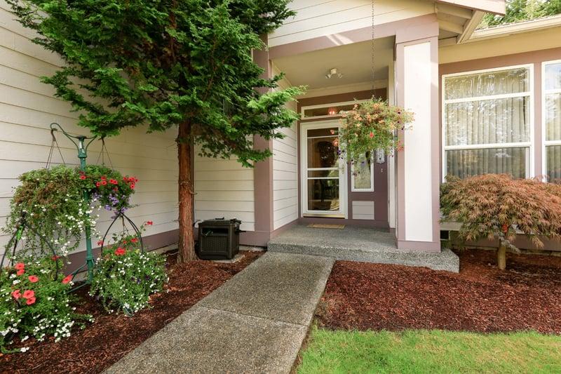 front porch colors feng shui