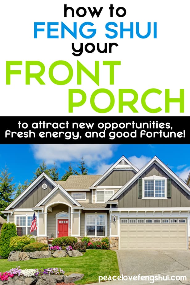 how to feng shui your front porch