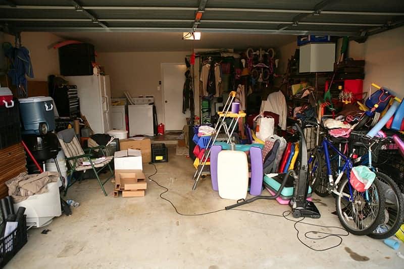 garage feng shui messy garage