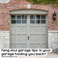 feng shui garage