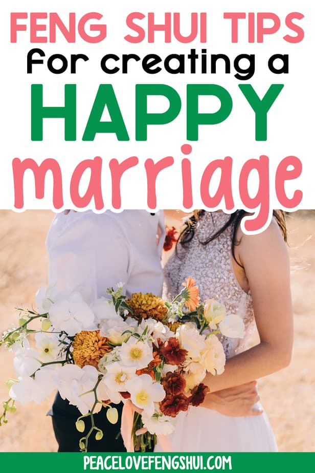 feng shui tips for a happy marriage