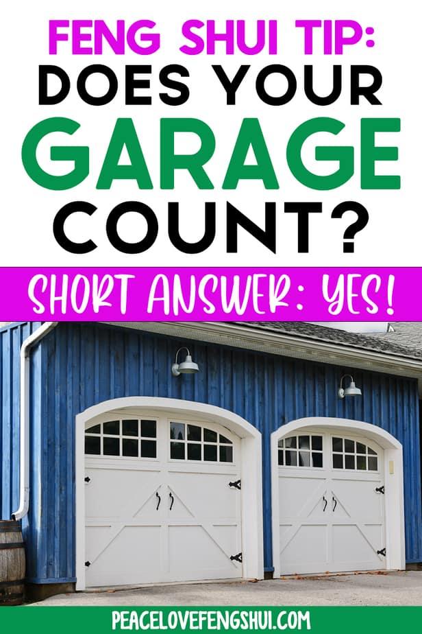 best feng shui for garage