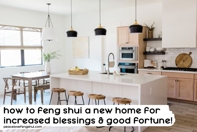 feng shui new home